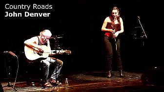 Country Roads - John Denver (Manon Espinosa ft. Yves Géleff) - LIVE Toulouse 2017