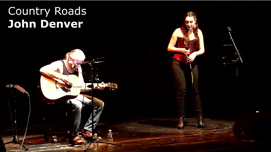 Country Roads - John Denver (Manon Espinosa ft. Yves Géleff) - LIVE Toulouse 2017